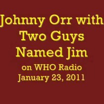 Johnny Orr on Two Guys Named Jim