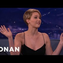 WATCH: Jennifer Lawrence talks Sex Toy Stash with Conan