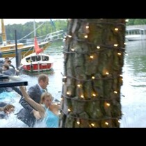 Bridal Party Falls Into A Lake When Bridge Collapses!!