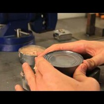 How To Open A Can WithOut A Can Opener!