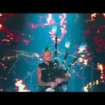 VIDEO: Bagpiper Rocks ACDC's 'Thunderstruck' with FLAMES