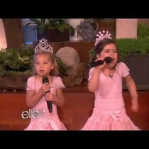 Sophia Grace and Rosie's first time on Ellen!