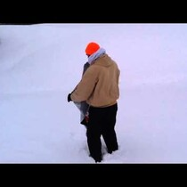 VIDEO: Rick's Sled Attempt Goes Horribly Wrong