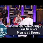 Watch Florida Georgia Line Play Musical Beers with Jimmy Fallon