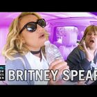 Britney Spears Carpools With James Corden (Video)