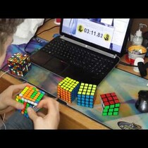 Are you still trying to solve your Rubix Cube?