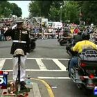 Amazing: Injured Marine Holds Salute for 3 Hours at Rolling Thunder