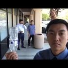 Guy Does Tricks With Random Objects