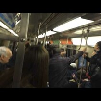 WATCH: Rat In The Subway Car!