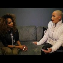 Amber Rose Talks Ye with Necole Bitchie
