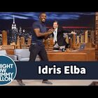Idris Elba shows off his dance moves