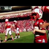 7 yr old cancer patient Jack Hoffman runs 69 yd Touchdown at Nebraska Football Spring Game