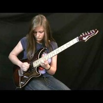 AMAZING! 14-Year-Old Girl Shreds on Guitar!