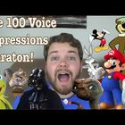 A Guy Does 100 Impressions in Under Four Minutes