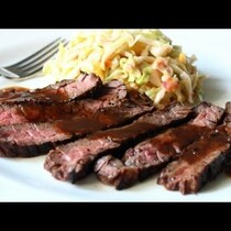 Recipe Alert Grilled Coffee & Cola Skirt Steak!