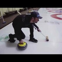 Dierks goes curling!