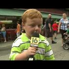 LOL: Cute Kid Steals Show During Live TV Interview
