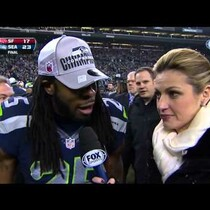 Seattle's Richard Sherman EPIC interview after game