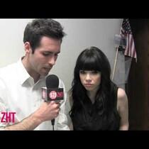 ZHTV: Carly Rae Jepsen Interview