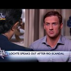 [WATCH] Stephen Colbert's Hilarious Mock Interview with Ryan Lochte