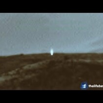 NASA releases photo of mysterious light beam on MARS!