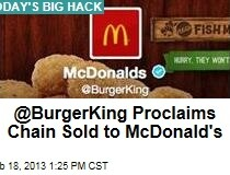 Burger King Twitter HACKED!