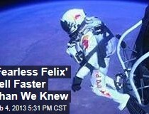 'Fearless Felix' Fell Even Faster Than We Thought