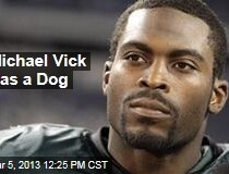 Michael Vick Gets a Dog