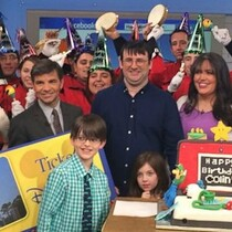 #HappyBirthdayColin Gets Surprise Party on GMA