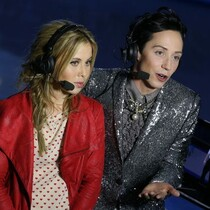 Johnny Weir stole my coat!