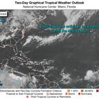 Se calienta el Atlántico y se vigila Posible Desarrollo Ciclónico en los próximos dias