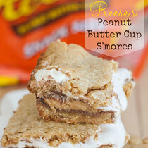 Reese's Peanut Butter Cup S'mores
