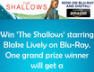 "Win ""The Shallows"" Starring Blake Lively"