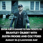 Win Brantley Gilbert Tickets
