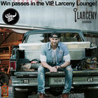 The Larceny Lounge at Chase Rice