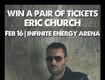 Win Eric Church Tickets