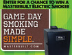 Win a Masterbuilt Electric Smoker for Tailgating