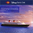 Win a cruise on the Disney Wonder!