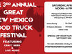 Win Tickets To The Great New Mexico Food Truck Festival!