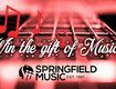 Win a Guitar and Guitar Lessons from Springfield Music!