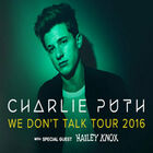 Charlie Puth We Don't Talk Tour 2016
