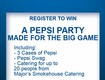 Win a Pepsi Party Made for The Big Game