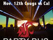 Win a Pair of Tickets on our WSU Football Bus!