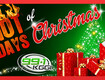 Hot Days of Christmas! Win Prizes Each Weekday!