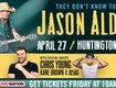 WIN BEAT THE BOX OFFICE TICKETS TO SEE JASON ALDEAN!