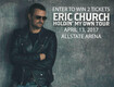 Enter to win tickets to see Eric Church