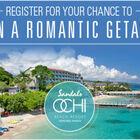 Win a Romantic Getaway to Sandals!