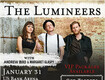 The Lumineers at US Bank Arena on January 31st!