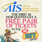 Get an AIS Quote and Get Vans Warped Tour Tickets!