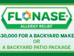 Win a $30k Backyard Makeover from Flonase